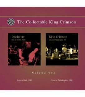 The Collectable King Crimson Vol.2 (Live In Bath 1981, Live In PhiladeLPhia 1982)-2 CD