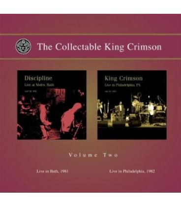 The Collectable King Crimson Vol.2 (Live In Bath 1981, Live In PhiladeLPhia 1982)-2 CD