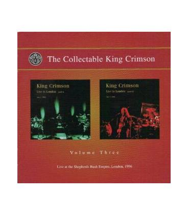 The Collectable King Crimson Vol.3 (Live In London, 1996)-2 CD