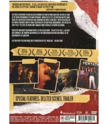 Last Days Here-1 DVD
