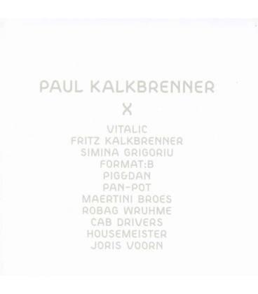 Paul Kalkbrenner X-1 CD