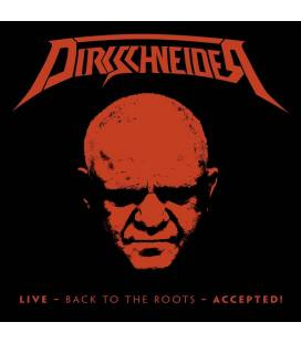Live-Back To The Roots-Accepted-DIGIPACK BLU RAY+2 CD