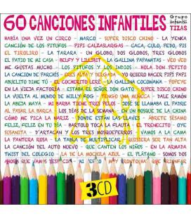 60 Canciones Infantiles-3 CD