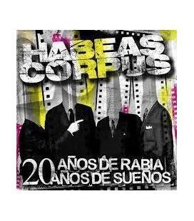 20 Años De Rabia 20 Años De Sueños (1 CD)