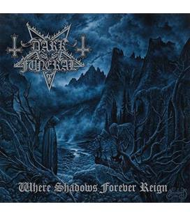 Where Shadows Forever Reign. Gatefold Black LP