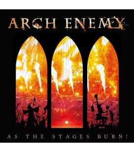 As The Stages Burn!. Gatefold Black 2 LP+DVD