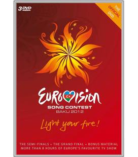 Eurovision Song Contest Baku -3 DVD