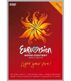 Eurovision Song Contest Baku -3 DVD