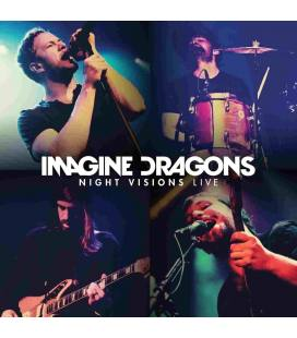 Night Visions Live-2 CD