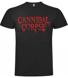 Cannibal Corpse logo Camiseta Manga Corta