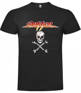 Dokken logo Camiseta Manga Corta