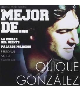 Lo Mejor De Quique Gonzalez-1 CD