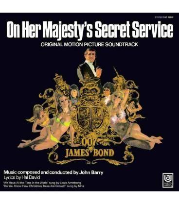 James Bond, On Her Majesty'S Secret Servi-1 LP