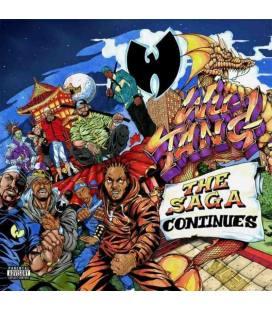 The Saga Continues-2 LP ORANGE