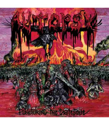 Puncturing The Grotesque-1 CD