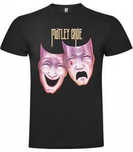Motley Crue Mask Camiseta Manga Corta
