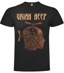 Uriah Heep Driven Camiseta Manga Corta