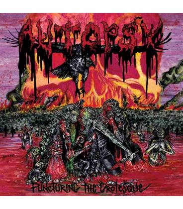 Puncturing The Grotesque-1 LP BLACK