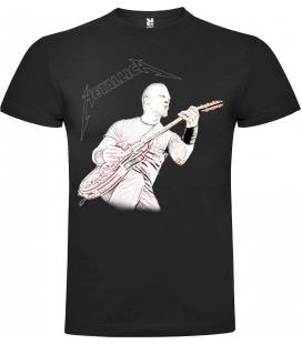 Metallica James Hetfield Camiseta Manga Corta