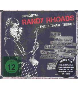 Immortal Randy Rhoads - The Ultimate Tribute-1 CD+1 DVD