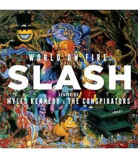 World On Fire-1 CD