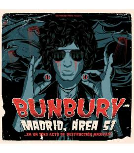 Madrid Area 51 En Un Solo Acto De Destruccion Masiva-2 CD +2 DVD