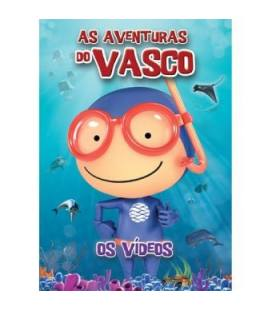 As Aventuras Do Vasco - Os Videos-1 DVD