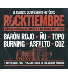 Rocktiembre-1 CD +2 DVD