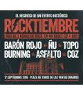 Rocktiembre-1 CD +2 DVD