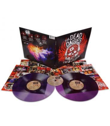 Live & Louder-2 LP+1 CD