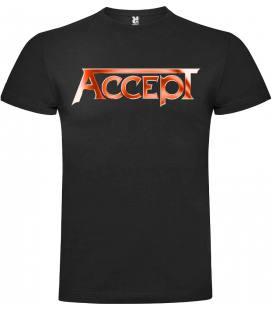 Accep Logo Camiseta Manga Corta