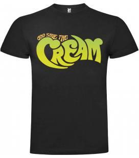 Cream God Save The Cream Camiseta Manga Corta