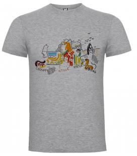 Crosby, Stills, Nash & Young C.S.N. &.Y. Camiseta Manga Corta