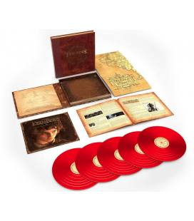 The Lord Of The Rings: The Complete Recordings-5 LP ROJO