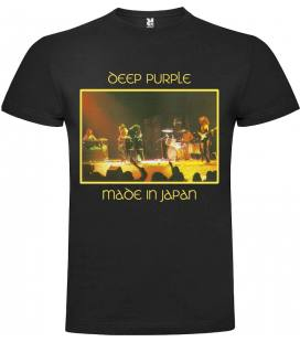 Deep Purple Made In Japan Camiseta Manga Corta