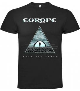 Europe Walk The Earth Camiseta Manga Corta