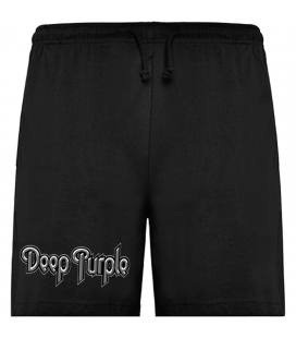 Deep Purple Logo Bermudas