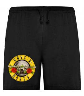 Guns N Roses Circle Bermudas