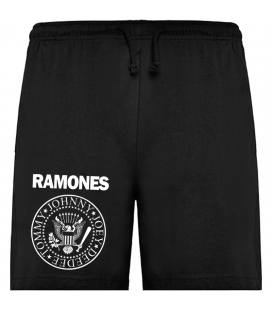 Ramones Logo Bermudas