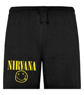 Nirvana Smiley Bermudas