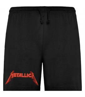 Metallica Logo Bermudas