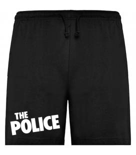 The Police Logo Bermudas