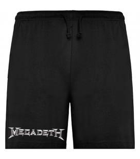 Megadeth Logo Bermudas