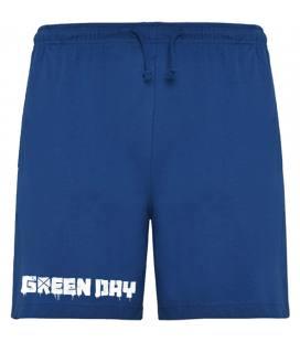 Green Day Logo Bermudas
