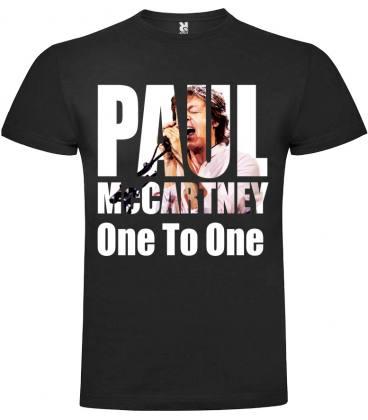 Paul McCartney One On One Camiseta Manga Corta
