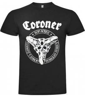 Coroner Logo Camiseta Manga Corta