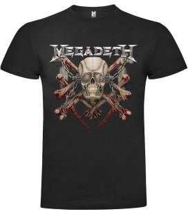 Megadeth Killing Is My Business Camiseta Manga Corta