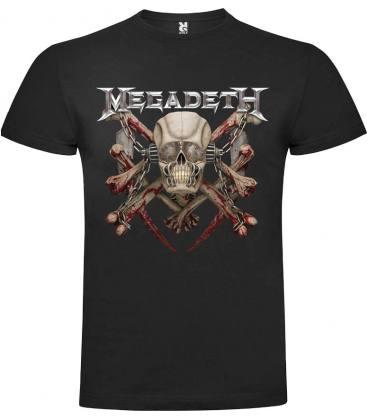 Megadeth Killing Is My Business Camiseta Manga Corta