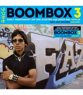 Boombox 3, Early Independent Hip Hop, Electro And Disco Rap 1979-83-3 LP