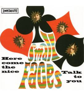 """Here Come The Nice/Talk To You (Us)-1 LP 7"""" BLACK"""